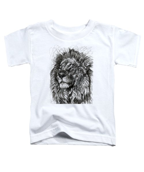 Cecil The Lion Toddler T-Shirt by Michael Volpicelli