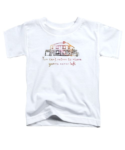 Cedarwood House Toddler T-Shirt by Clad63