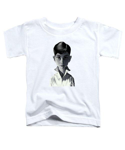 Celebrity Sunday - Audrey Hepburn Toddler T-Shirt