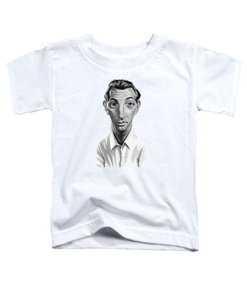 Celebrity Sunday - Robert Mitchum Toddler T-Shirt