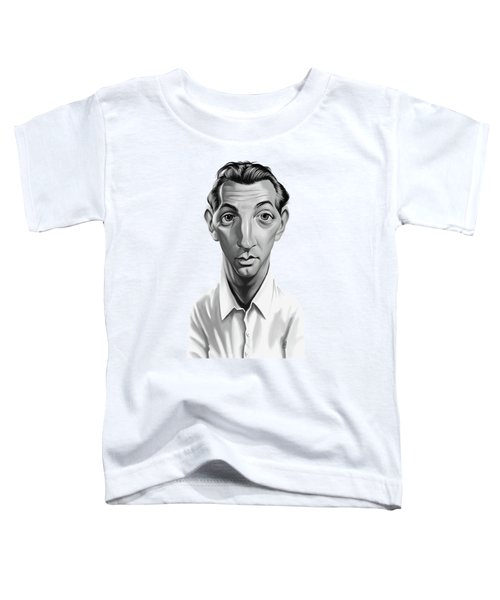 Celebrity Sunday - Robert Mitchum Toddler T-Shirt