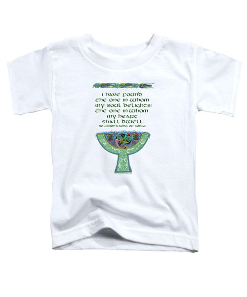 Celtic Wedding Goblet Toddler T-Shirt
