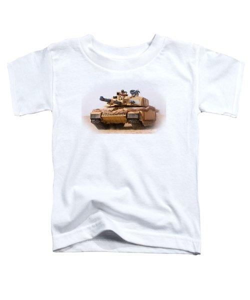 Challenger Tank Painting Toddler T-Shirt