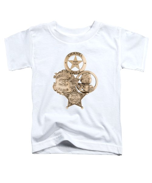 Chanel Jewelry-16 Toddler T-Shirt