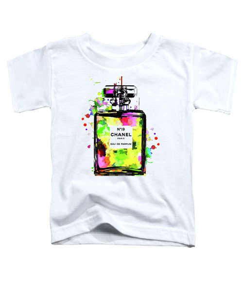 Chanel No. 19 Colored Toddler T-Shirt