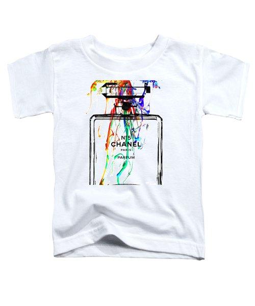 Chanel No. 5 White Toddler T-Shirt