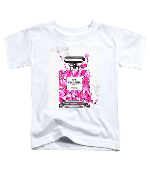 Chanel Pink Army Toddler T-Shirt