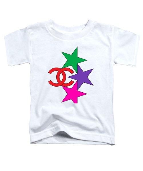 Chanel Stars-6 Toddler T-Shirt