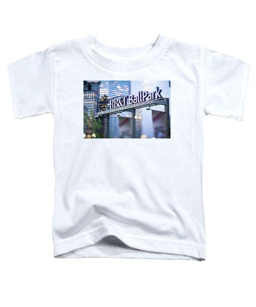 Charlotte Nc Usa  Bbt Baseball Park Sign  Toddler T-Shirt