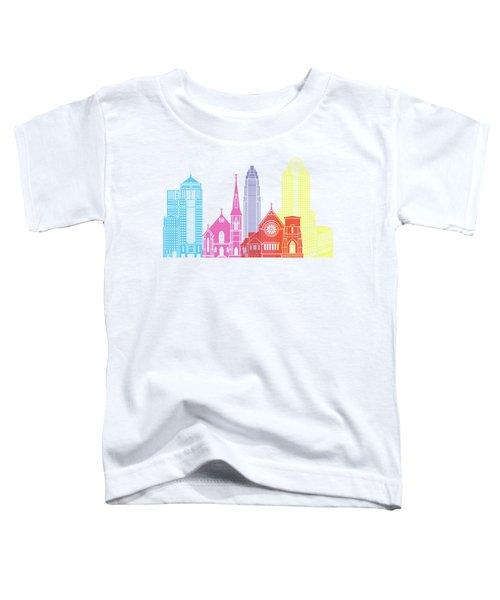 Charlotte Skyline Pop Toddler T-Shirt