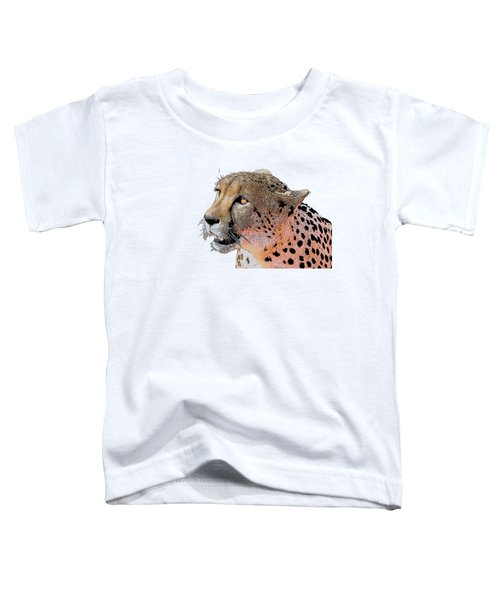 Cheetah Golden Eye Toddler T-Shirt