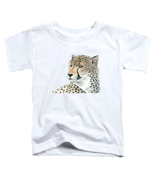 Cheetah Toddler T-Shirt by Katerina Kirilova