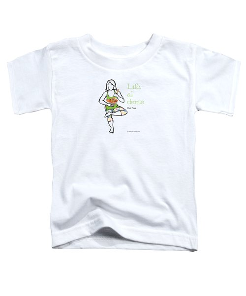 Chef Pose Toddler T-Shirt