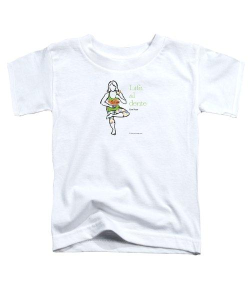 Chef Pose Toddler T-Shirt