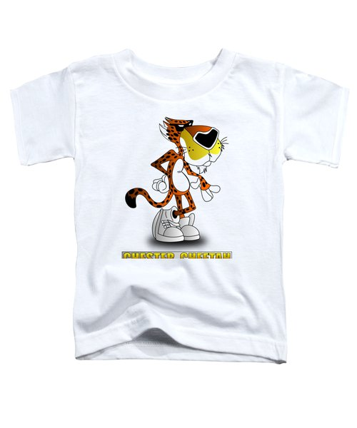 Chester Cheetah Toddler T-Shirt by Brian Swanke