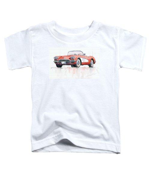 Chevrolet Corvette C1 1960  Toddler T-Shirt