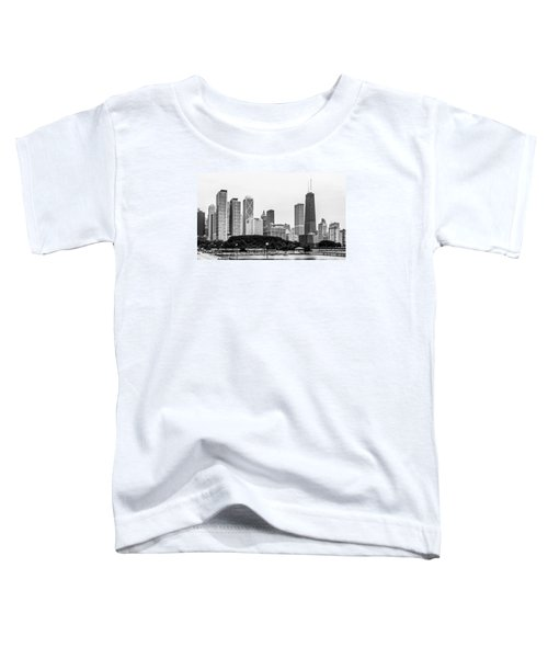 Chicago Skyline Architecture Toddler T-Shirt
