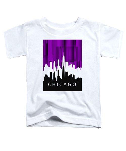 Chicago Violet In Negative Toddler T-Shirt
