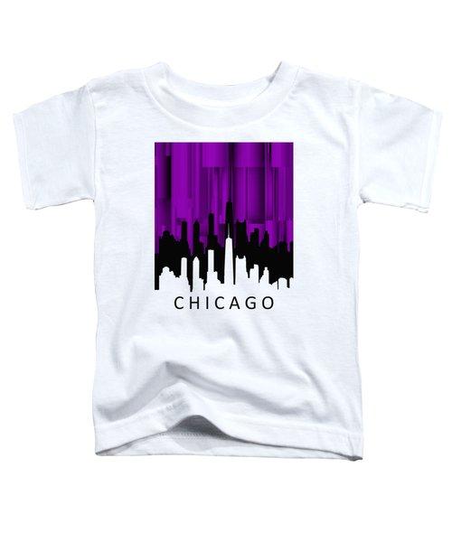 Chicago Violet Vertical  Toddler T-Shirt