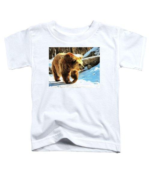 Chief Walking Bear Toddler T-Shirt