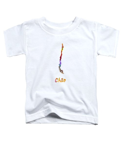 Chile In Watercolor Toddler T-Shirt