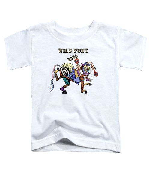 Chilli Peppers Wild Pony Toddler T-Shirt