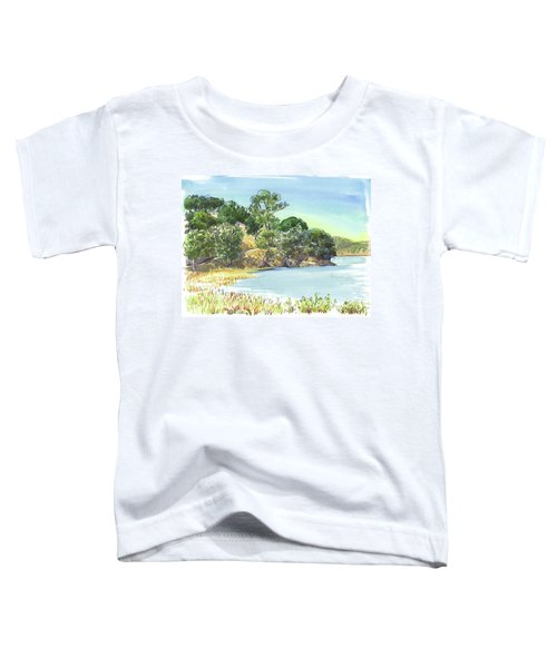 Toddler T-Shirt featuring the painting China Camp by Judith Kunzle