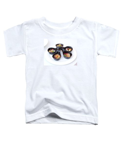 Chinese Herbal Soup With Red Dates And Wolfberries Toddler T-Shirt