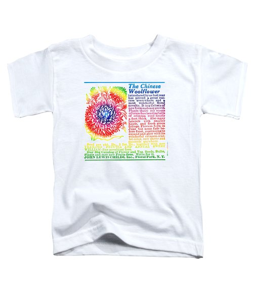 Chinese Woolflower Toddler T-Shirt