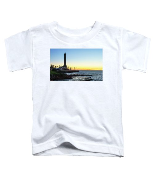 Chipiona Lighthouse Cadiz Spain Toddler T-Shirt