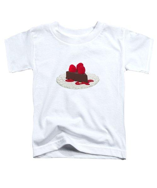 Chocolate Cake Toddler T-Shirt