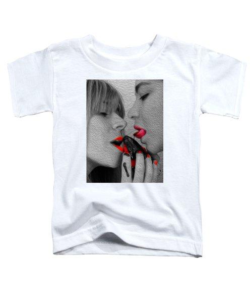 Chocolate Kiss- Toddler T-Shirt