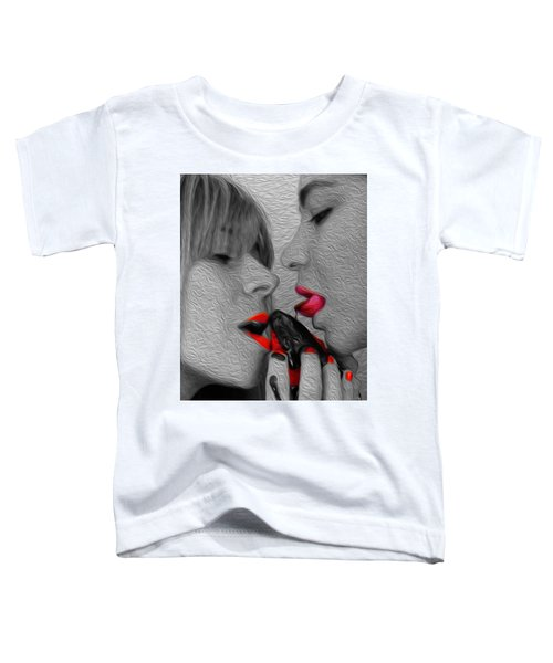 Chocolate Kiss- Toddler T-Shirt