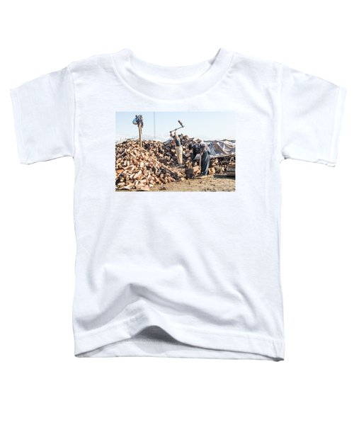 Chopping Wood Toddler T-Shirt
