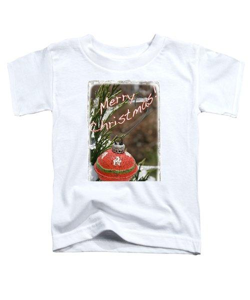 Christmas Bell Ornament Toddler T-Shirt