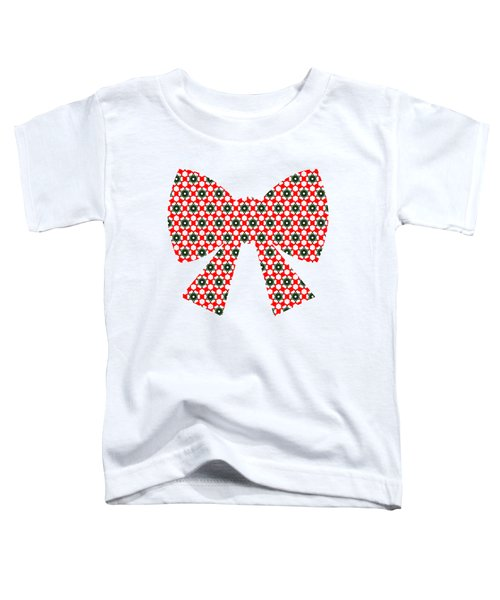 Christmas Paper Pattern Toddler T-Shirt