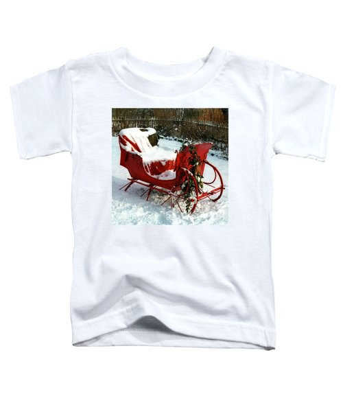 Christmas Sleigh Toddler T-Shirt