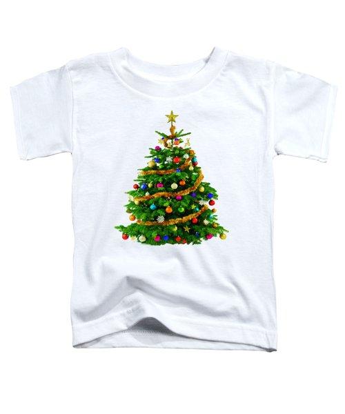 Christmas Tree 1417 Toddler T-Shirt