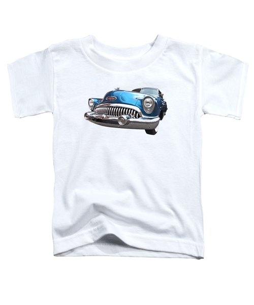 Chrome Heaven - Buick Riviera 1953 Toddler T-Shirt