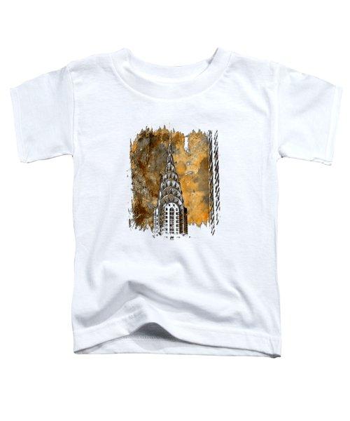 Chrysler Spire Earthy 3 Dimensional Toddler T-Shirt
