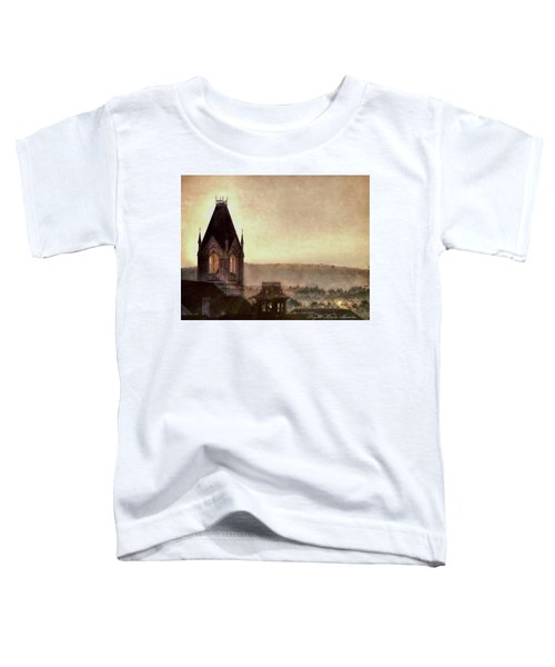 Church Steeple 4 For Cup Toddler T-Shirt
