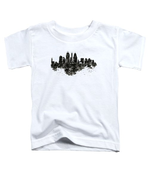 Cincinnati Skyline Black And White Toddler T-Shirt