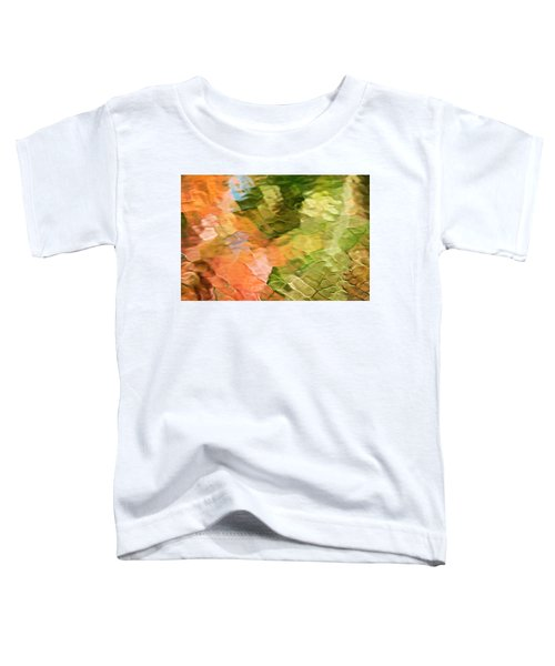 Cinnamon And Spice Mosaic Abstract Toddler T-Shirt