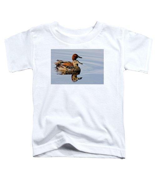 Cinnamon Teal Pair Toddler T-Shirt