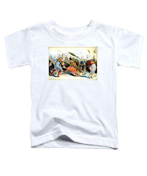 Circus Clowns - Vintage Circus Advertising Poster Toddler T-Shirt