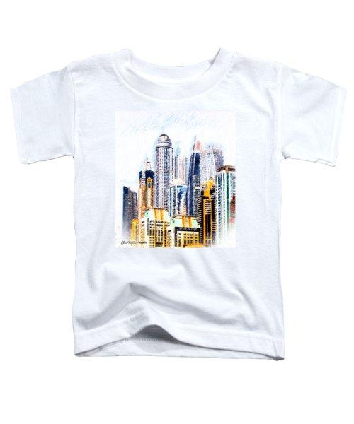 City Abstract Toddler T-Shirt