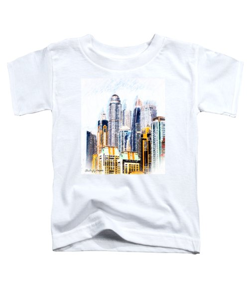 City Abstract Toddler T-Shirt