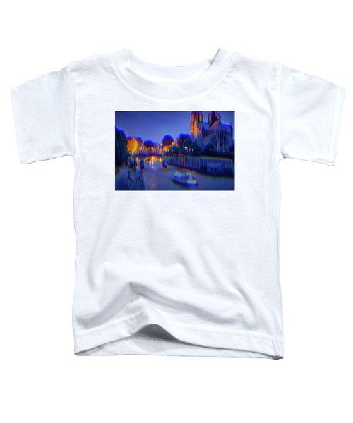 City Of Lights Toddler T-Shirt