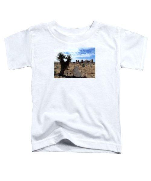 City Of Rocks - New Mexico Toddler T-Shirt