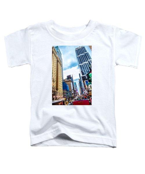 City Sights Nyc Toddler T-Shirt